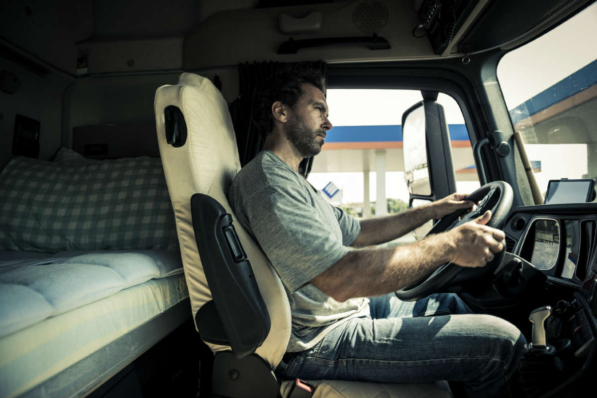 truck driver work compensation