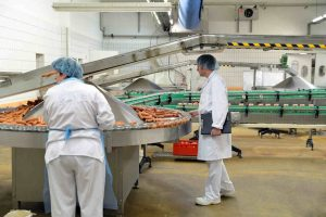 food manufacturing workers