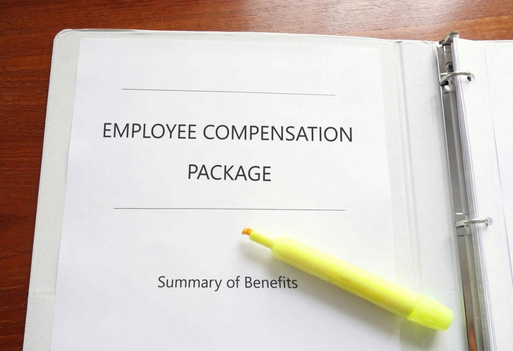 work injury compensation package