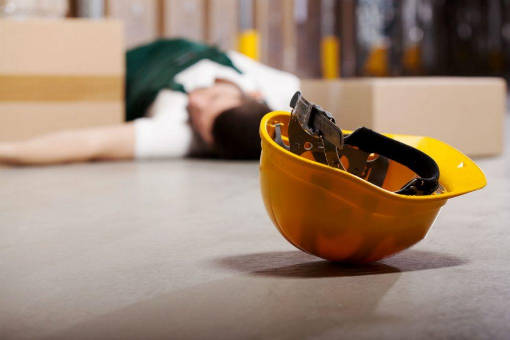blunt trauma injury at work