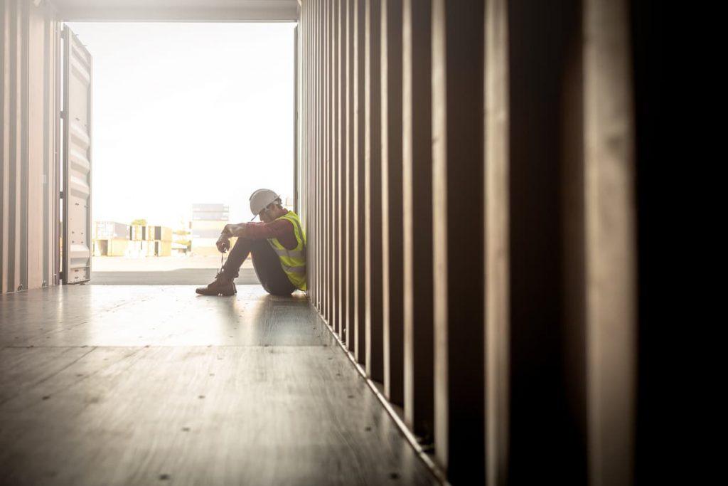 severely depressed missouri worker
